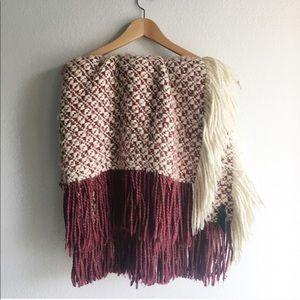 Anthropologie Super Soft Knit Throw